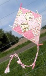 Let's Go Fly a Kite - Frolic in the Beginning - Quilted Wall Art