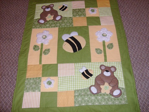 Teddy Bear Quilts - Quilting Gallery