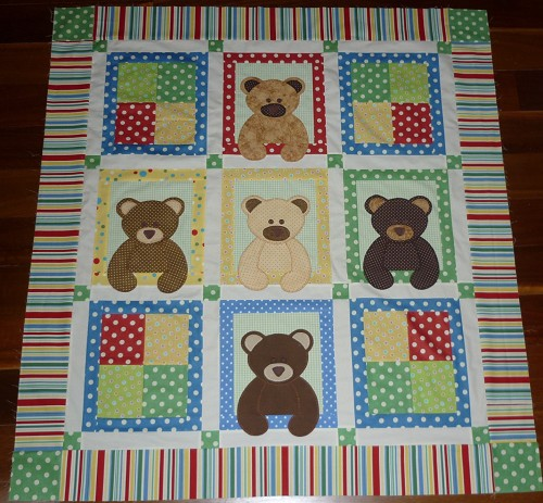 Teddy Bear Quilts Quilting Gallery