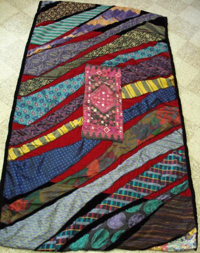 Necktie Quilt Quilting Gallery
