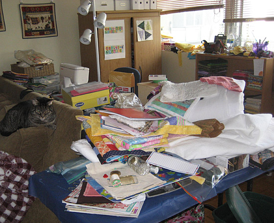 Messy Sewing Area Quilting Gallery