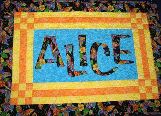 Alice S Wall Hanging Quilting Gallery
