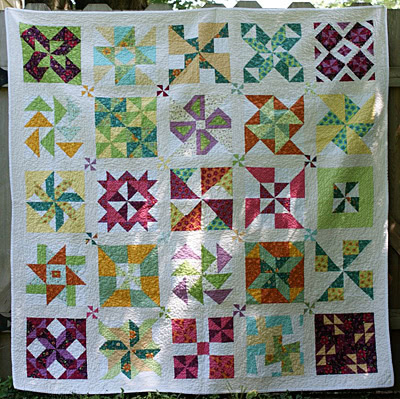 Block of the Month (or Week) Quilt Alongs