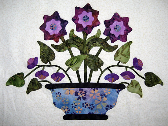 Floral Delight Applique