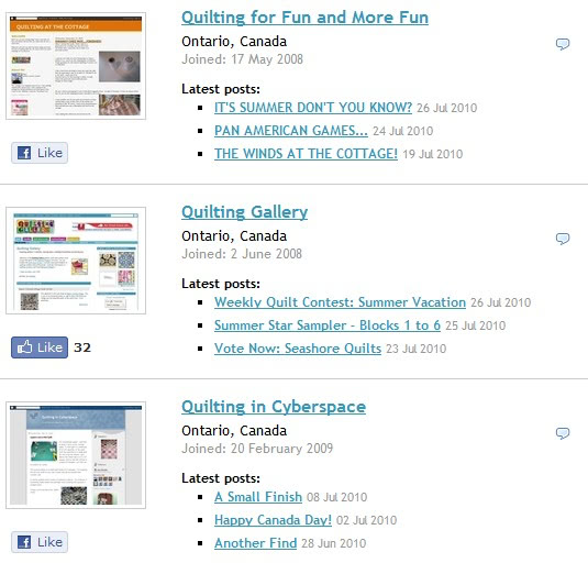 Exciting Changes to the Quilting Bloggers Directory