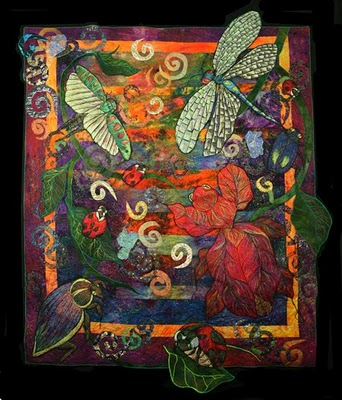 Dancing In The Light By Ellen Anne Eddy Quilting Gallery