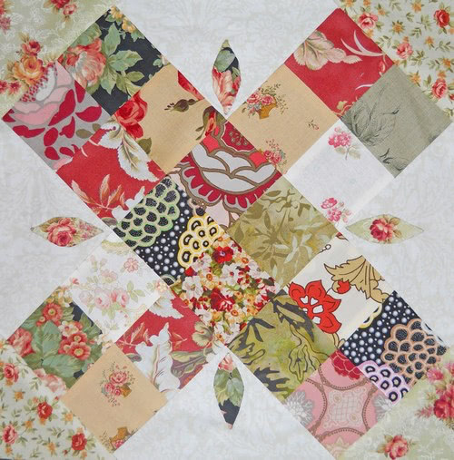 Quilt Along Block 9 Christmas Romance Quilting Gallery