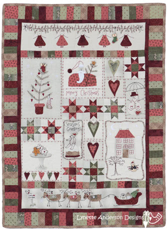 Quilt Along Block 31 Merry Christmas Block Quilting Gallery