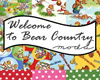 Quilter's Super Deal: 40% OFF Welcome to Bear Country