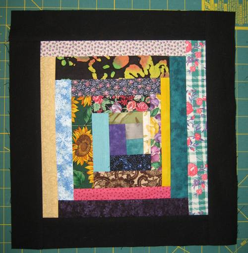 Tutorial Wonky Scrappy Log Cabin Quilt Block Quilting