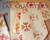 Book Review and Give-Away: Simply Fat Quarters