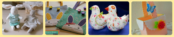 20 Adorably FREE Easter Sewing Projects